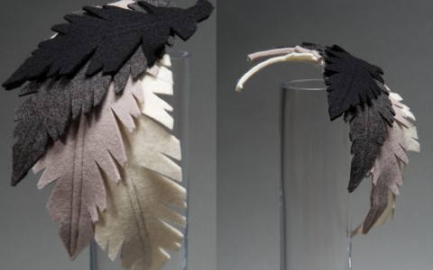 Leafy Feathers