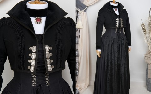 Traditional in Black